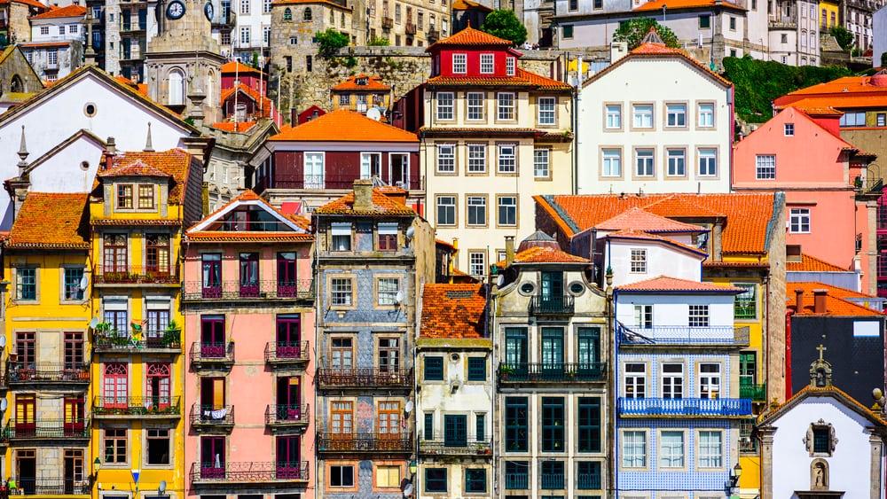 Portugal hus tett i tett